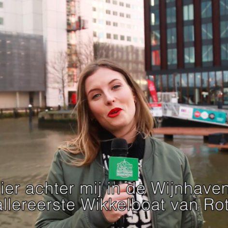Gespot in 010 Rottergem Wikkelboat Wijnhaven